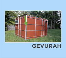 How to build Gevura Sukkah Video